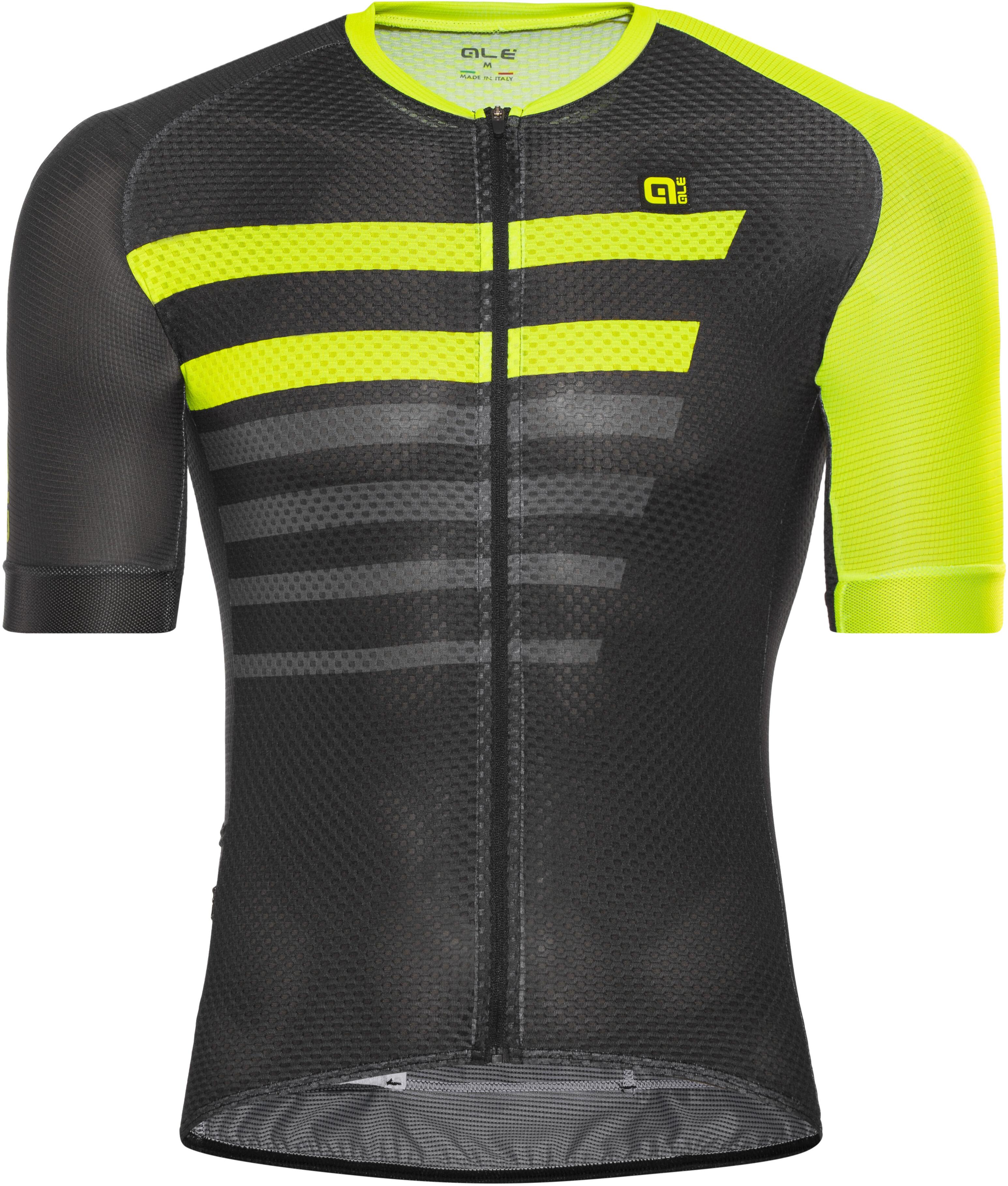 f4ea8ebc8 Alé Cycling PRR 2.0 Piuma Bike Jersey Shortsleeve Men yellow black ...